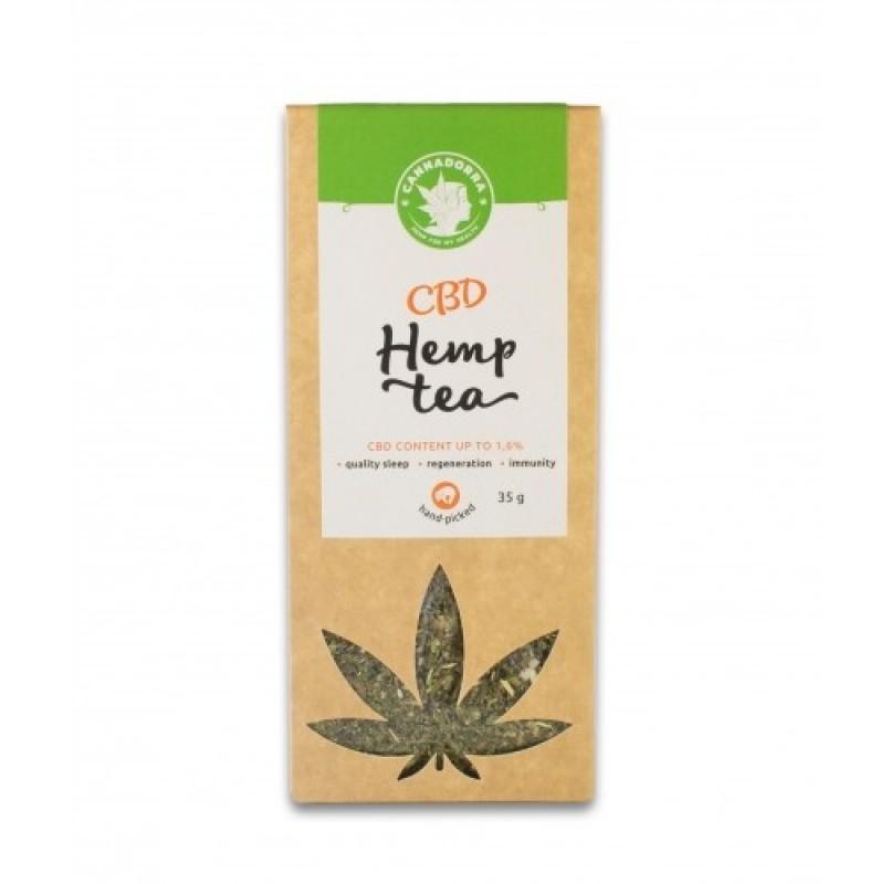 Τσάι κάνναβης με CBD 1,6% σε μερίδες 35g Cannadorra