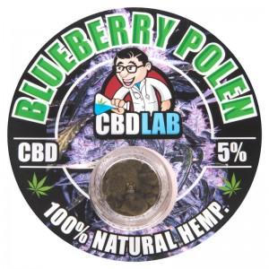 CBD Solid Blueberry Pollen 5% 1g