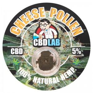 CBD Solid Cheese Pollen 5% CBD 1g