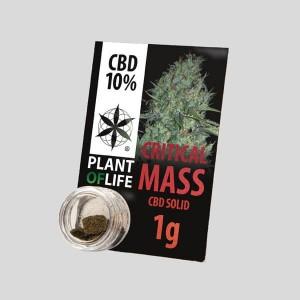 CBD Solid Critical Mass 10% 1g