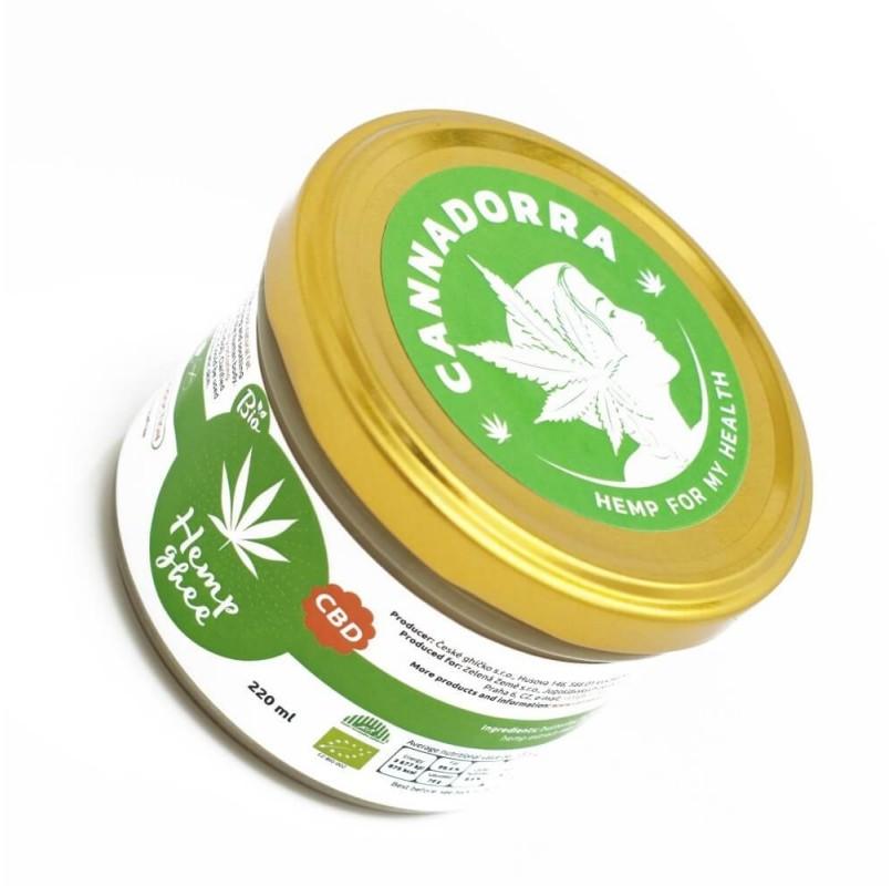 Βιολογικό Βούτυρο Κάνναβης (Hemp Ghee Butter CBD Bio) - 220ml
