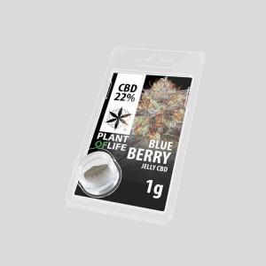CBD Jelly Bluebbery 22% 1g