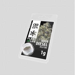 CBD Jelly Sour Diesel 22% 1g