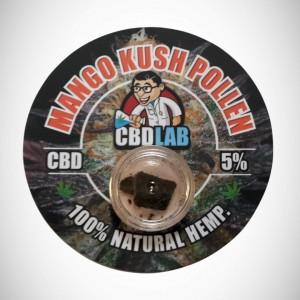 CBD Solid Mango Kush Pollen 5% 1g